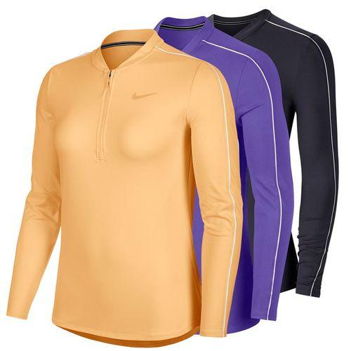Nike Court Dry 1/2 Zip Long Sleeve Top