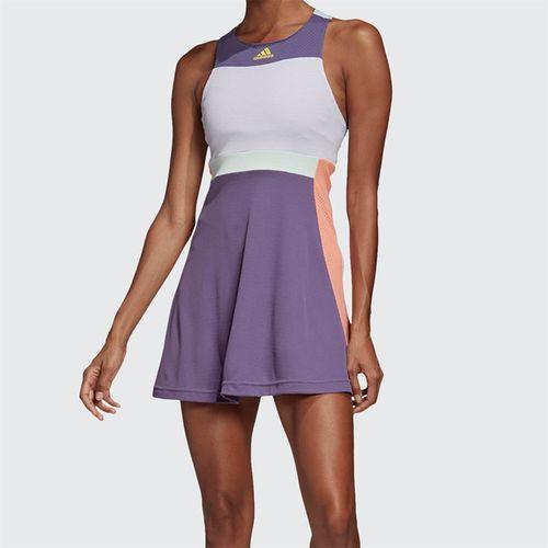 adidas Dress Womens Tech Purple/Shock Yellow FK0761