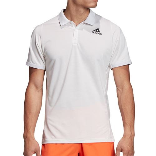adidas Primeblue Polo Shirt Mens Dash Grey/Black FK0812