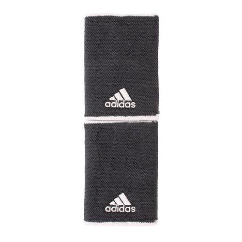 adidas Tennis Large Wristband - Grey Six/White