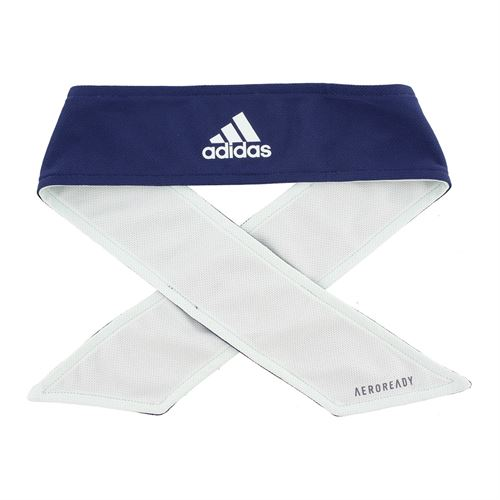 adidas Tennis Reversible Tieband - Dash Green/Tech Indigo