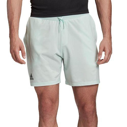 adidas Club Short 7 inch Mens Green Dash/Grey Six FK6936