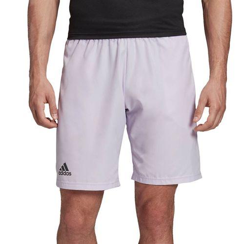 adidas Club Short 9 inch Mens Purple Tint/Grey Six FK6943