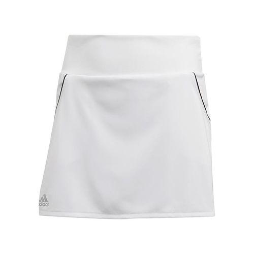 adidas Girls Club Skirt White/Matte Silver/Black FK7145