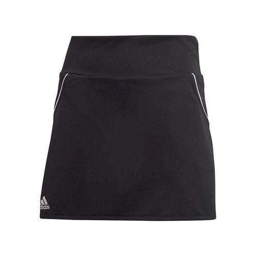 adidas Girls Club Skirt Black/Matte Silver/White FK7146
