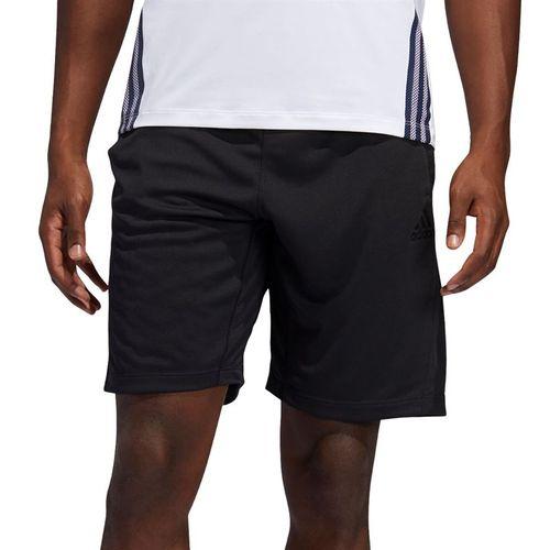 adidas Tech 3 Stripe Short Mens Black FM2107