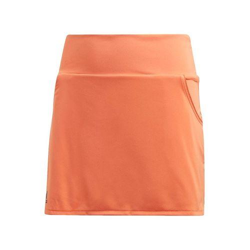 adidas Girls Club Skirt Amber Tint/Grey Six FP7974