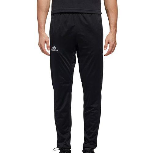 adidas 3-Stripe Knit Tennis Pants Mens Black FS3770