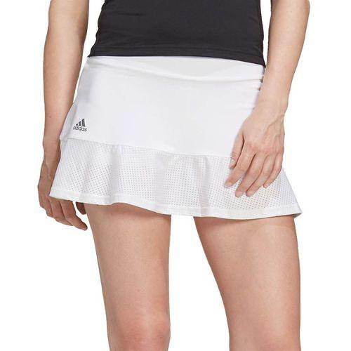 adidas Tennis Match Skirt Womens White/Grey FT6386