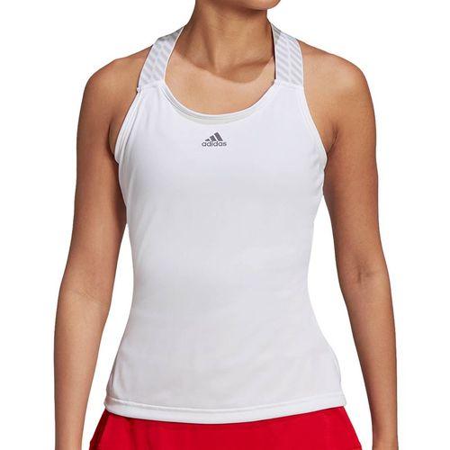 adidas Tennis Y-Tank Womens White/Grey FT6400