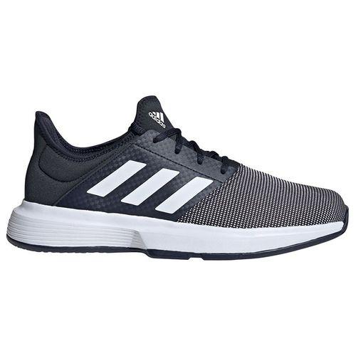 adidas GameCourt Mens Tennis Shoe Legend Ink/White FU8110