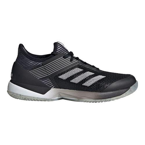adidas Adizero Ubersonic 3 Clay Womens Tennis Shoe Core Black/White FV4053
