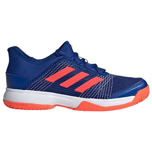 adidas Adizero Club Junior Tennis Shoes Collegiate Royal/Solar Red/White FV4132