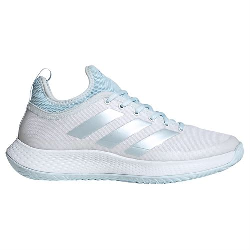 adidas Defiant Generation Multicourt Womens Tennis Shoes White/Sky Tint FX5813