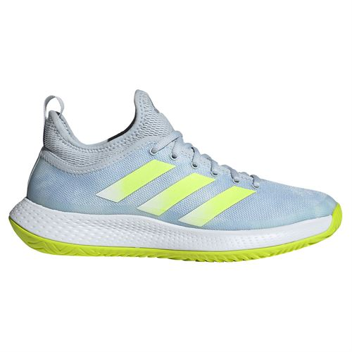 adidas Defiant Generation Womens Tennis Shoe Halo Blue/Solar Yellow/White FX7752
