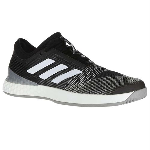 outlet store 6e9b6 f8a9e adidas Adizero Ubersonic 3 Mens Tennis Shoe - Core BlackWhiteLight Granite