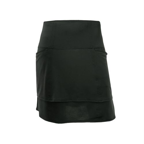 Lucky in Love Monarch Modern Layer Golf Skirt - Black