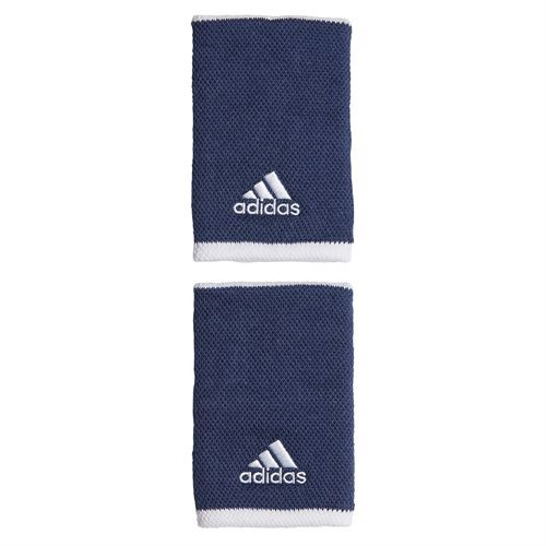 adidas Tennis Large Wristband - Tech Indigo/White