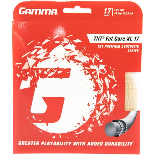 Gamma TNT2 Fat Core XL 17g Tennis String