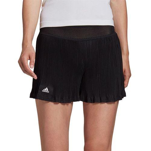 adidas Plisse 12 inch Short Womens Black GG3790