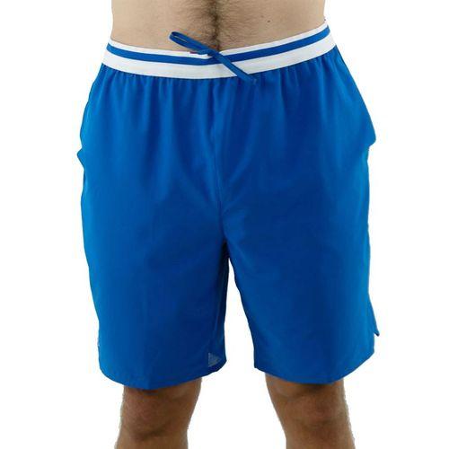 Lacoste SPORT x Novak Djokovic Stretch Taffeta Short - Marina/White