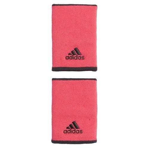 adidas Tennis Large Wristband - Power Pink/White