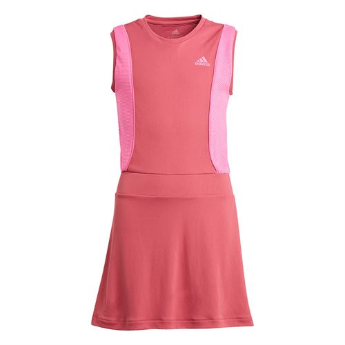 adidas Girls Pop Up Dress Wild Pink/Screaming Pink GK3013