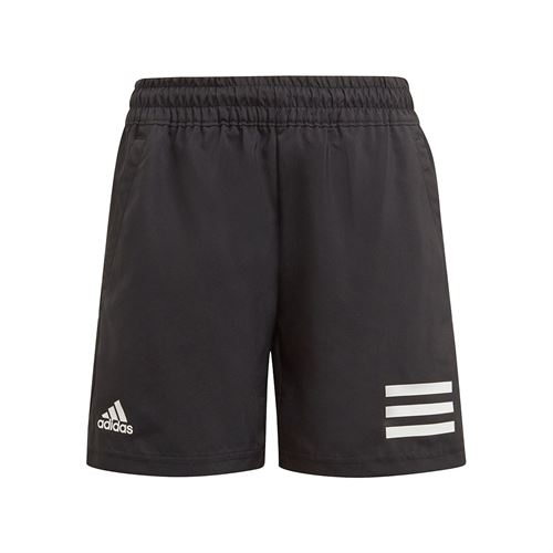 adidas Boys Club 3 Stripe Short Black/White GK8184