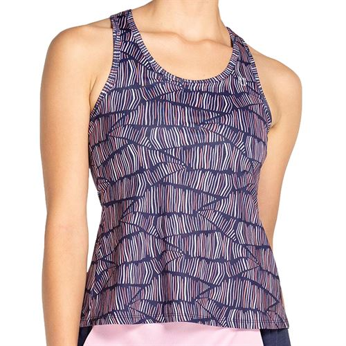 Eleven Glam Race Day Tank Womens Glam Print GL3176 966
