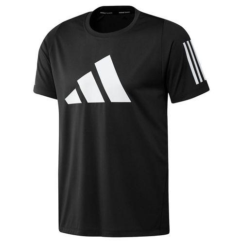 adidas Logo Tee Shirt Mens Black GL8920