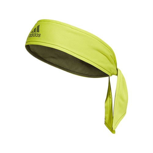 adidas Tennis Reversible Tieband - Acid Yellow/Wild Pine