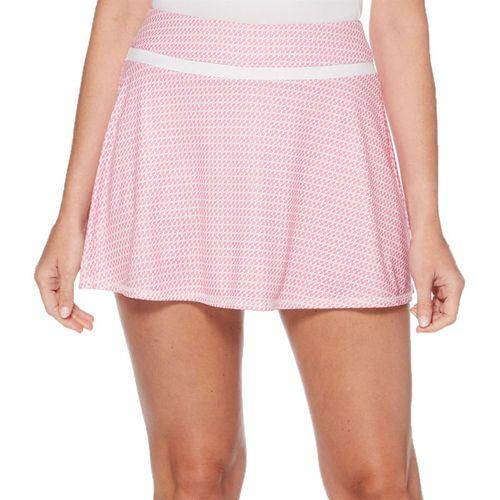 Grand Slam Tennis Fashion Skirt Womens Very Berry/Tennis Racquet Print GSKBSA27 653