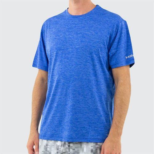 Head Short Sleeve Top Mens Vital Blue Heather HEM181TS33 R476û