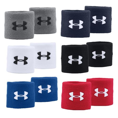 best service c08a5 92862 Under Armour Performance Wristbands, Ho17 1276991