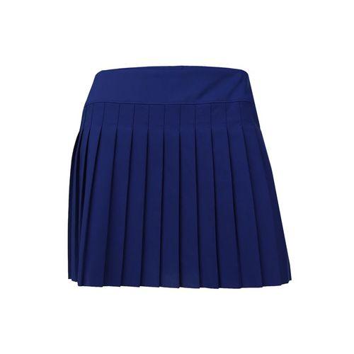 Lacoste Light Technical Woven Pleated Skirt - Varsity Blue