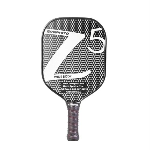 Onix Z5 Graphite Pickleball Paddle - White