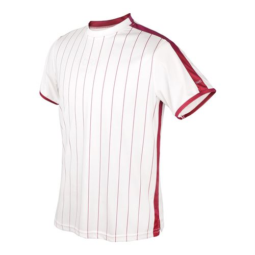 DUC Team Sublimated Crew Mens White/Cardinal M2003 WCD