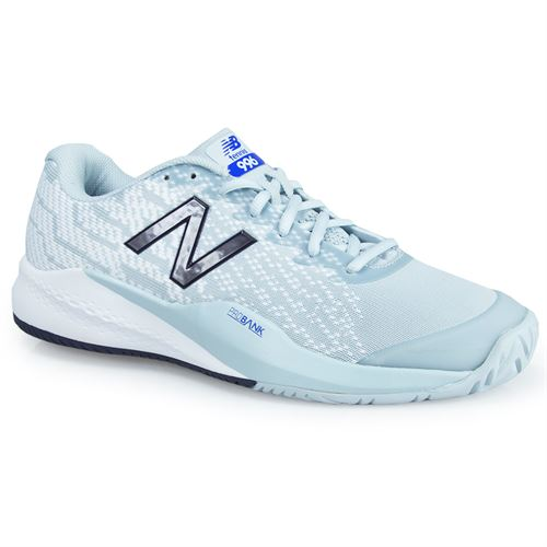 super popular de4cb 49d8d New Balance MCH996G3 (D) Mens Tennis Shoe - Grey White