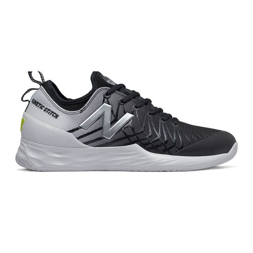 New Balance MCHLAVBK Freshfoam LAV Mens Tennis Shoe D Width Black/White MCHLAVBK D