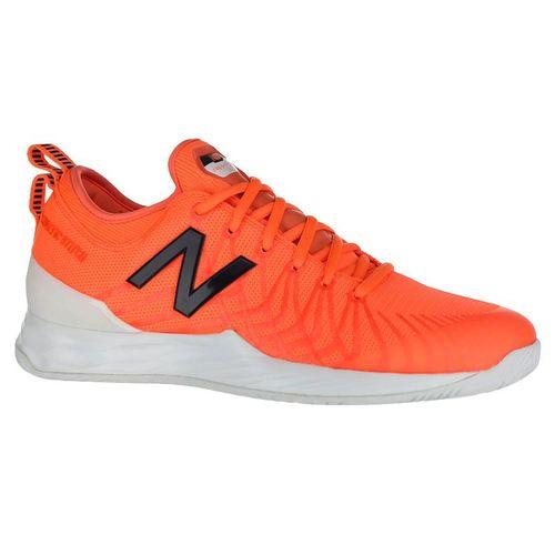 New Balance Fresh Foam LAV (D) Mens Tennis Shoe - Dark Mango/Cyclone