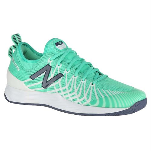 156d988858b7 New Balance Fresh Foam LAV (D) Mens Tennis Shoe - Emerald White