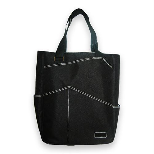 Maggie Mather Tennis Tote Bag Black