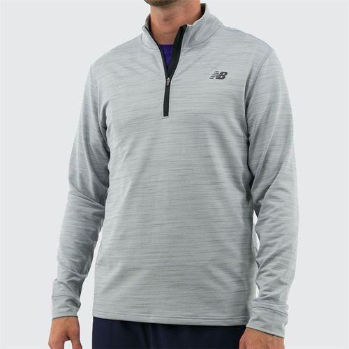 New Balance Anticipate 2.0 1/4 Zip Pullover - Athletic Grey