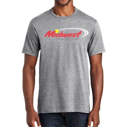 Midwest Sports Logo Tee Heather Grey MWLOGOT HGY