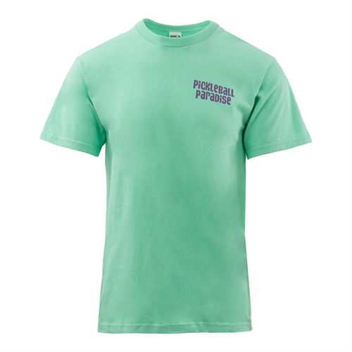 Pickleball Paradise Palm Tree Tee - Island Reef