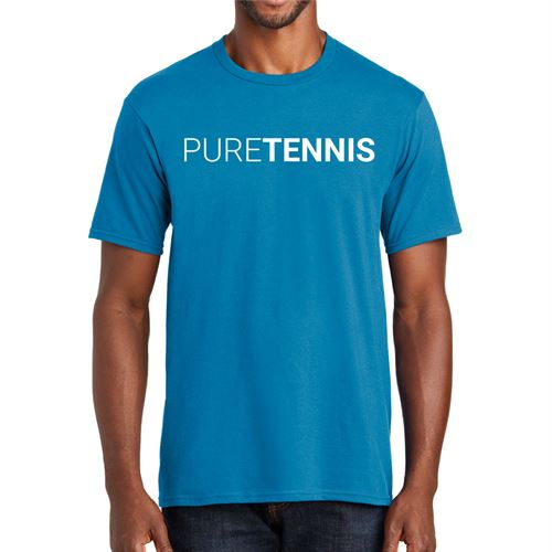 Midwest Sports Pure Tennis Tee Sapphire MWPURET SAP