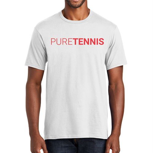 Midwest Sports Pure Tennis Tee White MWPURET WHT