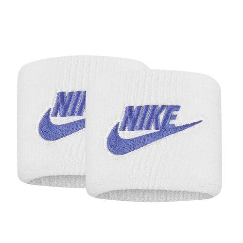 Nike Tennis Premier Wristbands - White/Sapphire