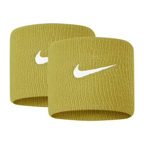 Nike Tennis Premier Wristbands - Dark Citron/White