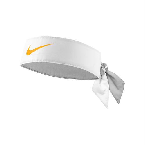 Nike Tennis Headband - White Gold Leaf 37cc18fc33d